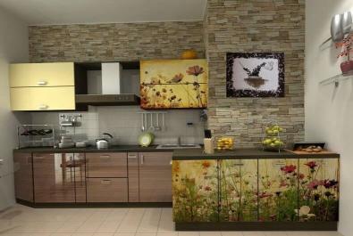 """Кухня """"Луговые цветы"""""""